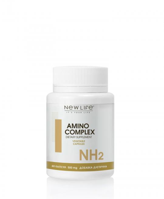 AMINO COMPLEX | АМИНО КОМПЛЕКС | 60 растительных капсул в баночке